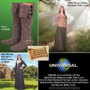 Maid Marion Riding Ensemble With Corset